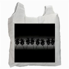 Tropical Sunset Recycle Bag (one Side)