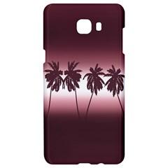 Tropical Sunset Samsung C9 Pro Hardshell Case