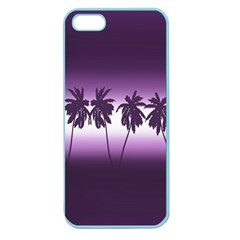 Tropical Sunset Apple Seamless Iphone 5 Case (color)