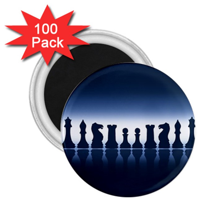 Chess Pieces 2.25  Magnets (100 pack)