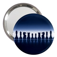 Chess Pieces 3  Handbag Mirrors