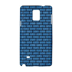 Brick1 Black Marble & Blue Colored Pencil (r) Samsung Galaxy Note 4 Hardshell Case