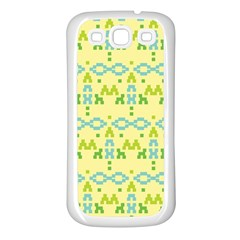 Simple Tribal Pattern Samsung Galaxy S3 Back Case (white)
