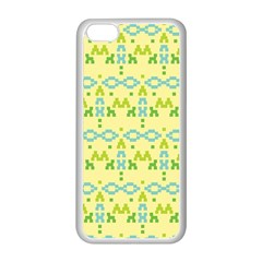 Simple Tribal Pattern Apple Iphone 5c Seamless Case (white)