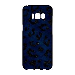 Skin5 Black Marble & Blue Grunge Samsung Galaxy S8 Hardshell Case