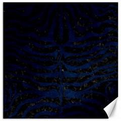 Skin2 Black Marble & Blue Grunge Canvas 20  X 20