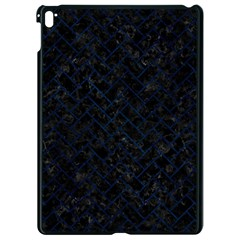 Brick2 Black Marble & Blue Grunge Apple Ipad Pro 9 7   Black Seamless Case
