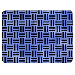 Woven1 Black Marble & Blue Watercolor (r) Samsung Galaxy Tab 7  P1000 Flip Case