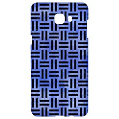 Woven1 Black Marble & Blue Watercolor (r) Samsung C9 Pro Hardshell Case