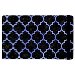 Tile1 Black Marble & Blue Watercolor Apple Ipad Pro 12 9   Flip Case