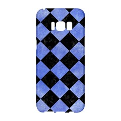 Square2 Black Marble & Blue Watercolor Samsung Galaxy S8 Hardshell Case