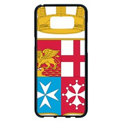 Coat Of Arms Of The Italian Navy Samsung Galaxy S8 Plus Black Seamless Case