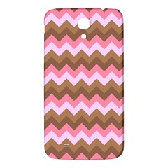 Shades Of Pink And Brown Retro Zigzag Chevron Pattern Samsung Galaxy Mega I9200 Hardshell Back Case