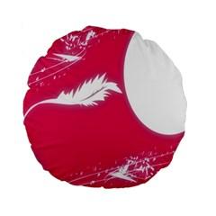 Hintergrund Tapete Texture Standard 15  Premium Round Cushions