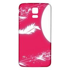 Hintergrund Tapete Texture Samsung Galaxy S5 Back Case (white)
