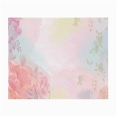 Watercolor Floral Small Glasses Cloth (2 Side)