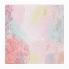 Watercolor Floral Medium Glasses Cloth