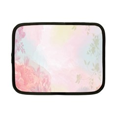 Watercolor Floral Netbook Case (small)