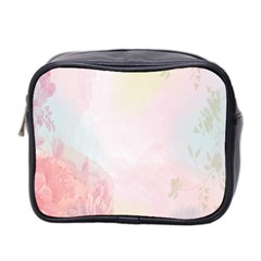 Watercolor Floral Mini Toiletries Bag 2 Side