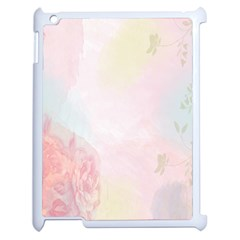Watercolor Floral Apple Ipad 2 Case (white)