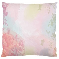 Watercolor Floral Large Cushion Case (two Sides)