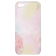 Watercolor Floral Apple Iphone 5 Hardshell Case