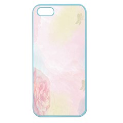 Watercolor Floral Apple Seamless Iphone 5 Case (color)