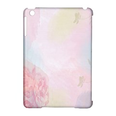 Watercolor Floral Apple Ipad Mini Hardshell Case (compatible With Smart Cover)