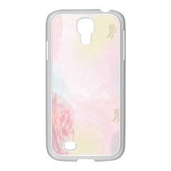 Watercolor Floral Samsung Galaxy S4 I9500/ I9505 Case (white)