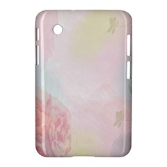 Watercolor Floral Samsung Galaxy Tab 2 (7 ) P3100 Hardshell Case
