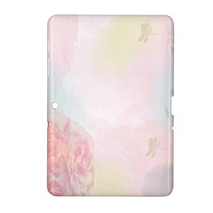 Watercolor Floral Samsung Galaxy Tab 2 (10 1 ) P5100 Hardshell Case