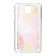Watercolor Floral Samsung Galaxy Note 3 N9005 Case (white)