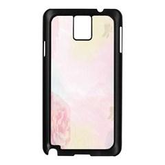 Watercolor Floral Samsung Galaxy Note 3 N9005 Case (black)
