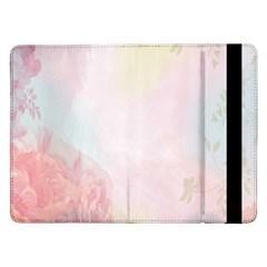 Watercolor Floral Samsung Galaxy Tab Pro 12 2  Flip Case