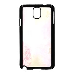 Watercolor Floral Samsung Galaxy Note 3 Neo Hardshell Case (black)