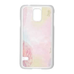 Watercolor Floral Samsung Galaxy S5 Case (white)