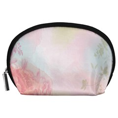 Watercolor Floral Accessory Pouches (large)