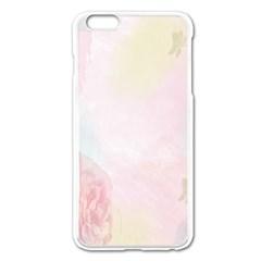 Watercolor Floral Apple Iphone 6 Plus/6s Plus Enamel White Case