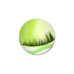 Green Background Wallpaper Texture Golf Ball Marker (10 Pack)