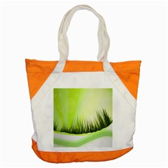 Green Background Wallpaper Texture Accent Tote Bag