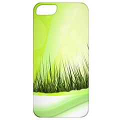 Green Background Wallpaper Texture Apple Iphone 5 Classic Hardshell Case
