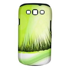 Green Background Wallpaper Texture Samsung Galaxy S Iii Classic Hardshell Case (pc+silicone)