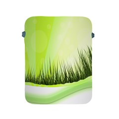 Green Background Wallpaper Texture Apple Ipad 2/3/4 Protective Soft Cases