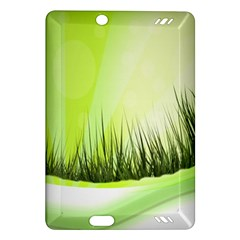 Green Background Wallpaper Texture Amazon Kindle Fire Hd (2013) Hardshell Case