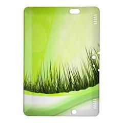 Green Background Wallpaper Texture Kindle Fire Hdx 8 9  Hardshell Case