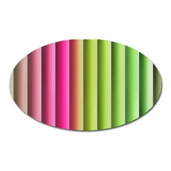 Vertical Blinds A Completely Seamless Tile Able Background Oval Magnet