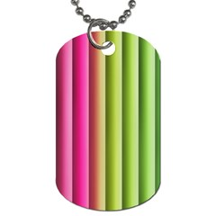 Vertical Blinds A Completely Seamless Tile Able Background Dog Tag (one Side)
