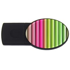 Vertical Blinds A Completely Seamless Tile Able Background Usb Flash Drive Oval (2 Gb)
