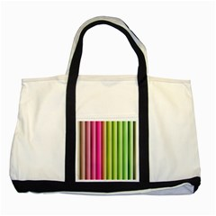Vertical Blinds A Completely Seamless Tile Able Background Two Tone Tote Bag