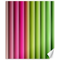 Vertical Blinds A Completely Seamless Tile Able Background Canvas 8  X 10